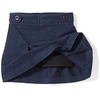 Essentials Big Girls' Uniform Skort, Navy Blazer, M (8)