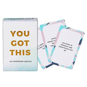 You Got This Cards