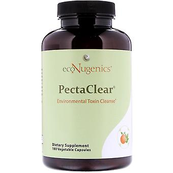 Econugenics, PectaClear, Environmental Toxin Cleanse, 180 Vegetable Capsules