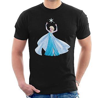 Disney gefroren Elsa Eis Kleid Schneeflocke Männer's T-Shirt