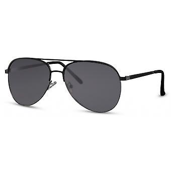 النظارات الشمسية الرجال الطيار الرجال كات. 3 مات الأسود / الأسود