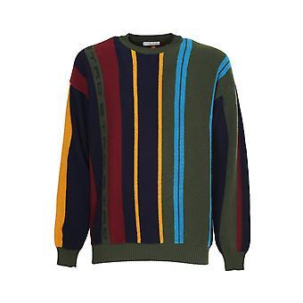 Etro 1n30096930500 Men's Suéter de Lã Multicolor