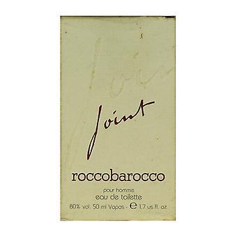 Roccobarocco Joint Pour Homme Eau De Toilette Spray 1.7Oz/50ml No Cap (90% Full)