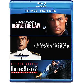 Steven Seagal - Above the Law/Under Siege/Under Siege 2 [BLU-RAY] USA import