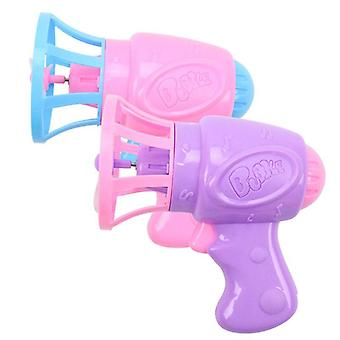 Bubble Blower Fan Machine Toy For Kids - Soap Water Gun Summer Outdoor Gift