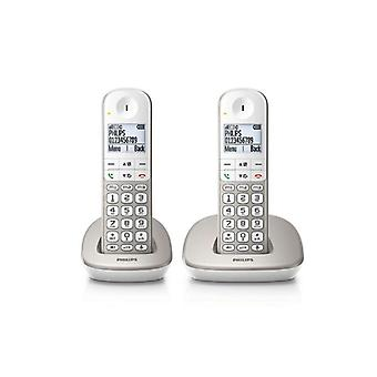 Philips XL4902S/22 1,9-quot Wireless telefon; 550 mAh GAP (2 KS) bílá