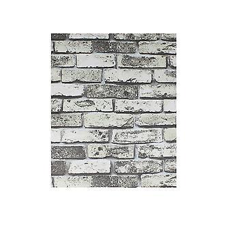 9.84x1.96Inch Ziegel-Wallpaper selbstklebende Tapete bläulich-grün