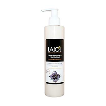 Sensitive skin moisturizing body cream 250 ml of cream
