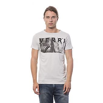 Verri Men's Grigioperla T-Shirt Gray VE685990