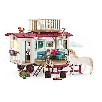 Schleich Caravan for Secret Club Meetings (42415) - Kids Toy