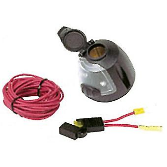 Hopkins 55125 12 Volt stopcontact met Utility licht / 17Ft Power draad & Fuse