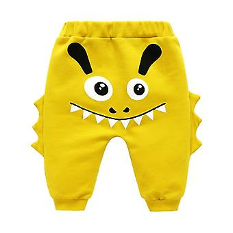 Spring Autumn Cartoon Baby Girl / Boy Pants