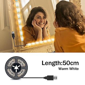 forfengelighet makeup speil stripe 5v ledet fleksibel tape lampe, usb drevet