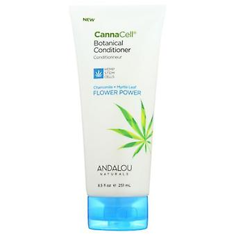 Andalou Naturals CannaCell Conditioner Flower Power, 8.5 Oz