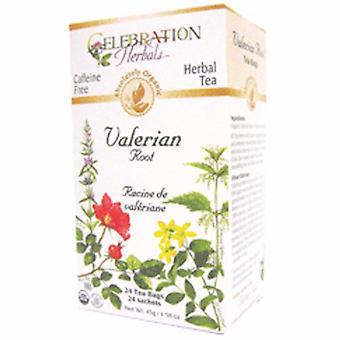 Celebration Herbals Organic Valerian Root Tea, 24 Bags