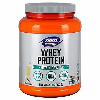 الآن الأطعمة مصل اللبن البروتين، الفانيليا الطبيعية، 2 رطل