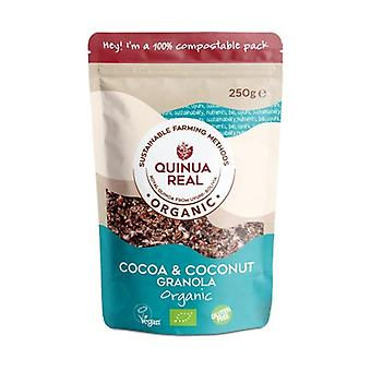 Real Quinua Granola med kakao og kokos uden gluten Bio 360 g