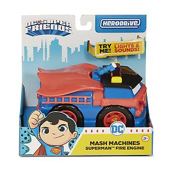 Dc super friends - mash machines - superman