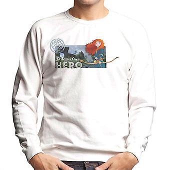 Pixar Brave Be Your Own Hero Men's Sweatshirt
