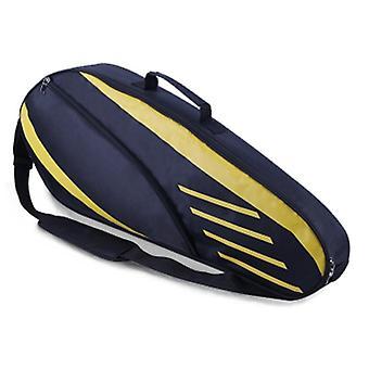 Waterproof Badminton Bag, Racket Tennis Backpack For 3-6 Rackets, Single