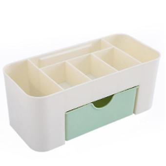 Office Desk Organizer, Drawer, Multi-functional Plastic 6 Grid Cosmetics