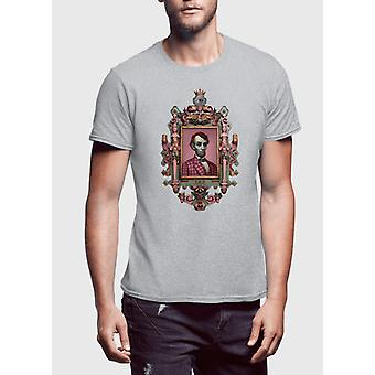Abraham lincoln muotokuva puoli hihat t-paita