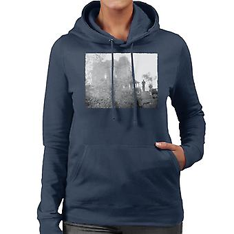Psycho Norman Bates Walking To His Home Women's Hooded Sweatshirt