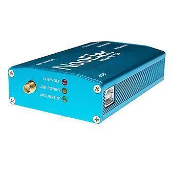 Extruded aluminum enclosure kit, blue, for ham it up v1.3 rf upconverter for nesdr and rtl-sdr radio
