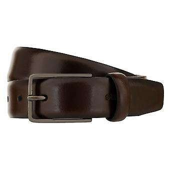 Strellson belts men's belts leather leather belt Brown 2908