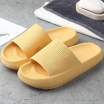 Women Slippers Heel Platform Flat Non-slip Shoes