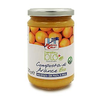 Simple & organic compote of oranges 320 g