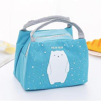 Hordozható vízálló szigetelés csomag friss ice pack ebéd hűtő táska /