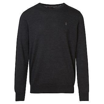 Ralph Lauren 710714346008 Men's Grey Wool Sweater
