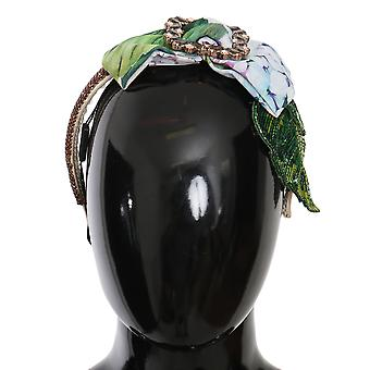 Floral Hortensia Kristall Diadem Stirnband