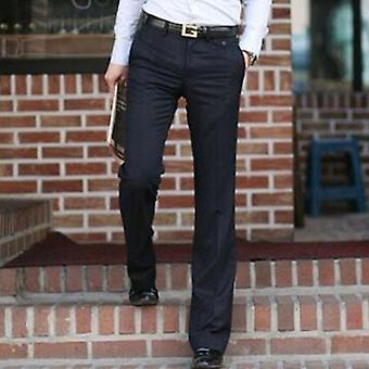 Men's Flared Trousers Formal Bell Bottom Pant Dance Suit
