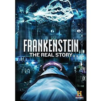 Frankenstein: Real Story [DVD] USA tuonti