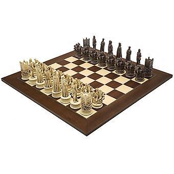 El Berkeley Russet isabelina de ajedrez y juego de ajedrez de palisandro Grand