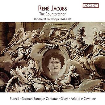 Gluck / Purcell / Jacobs / Kuijken - Jacobs: importazione USA controtenore [CD]