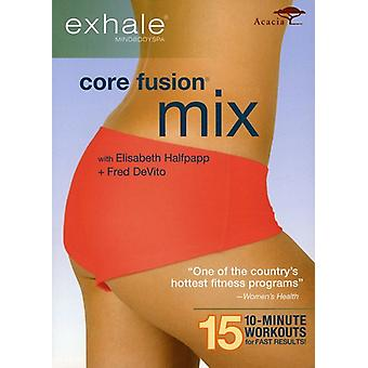 Exhale: Core Fusion Mix [DVD] USA import
