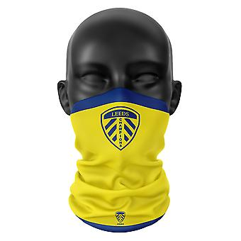 Leeds United FC Colours Snood - Face Mask Scarf Hat Voetbal Buff Hoofddekschoen