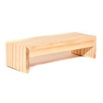 Puppenhaus moderne bare Holz Couchtisch zeitgenössische Möbel