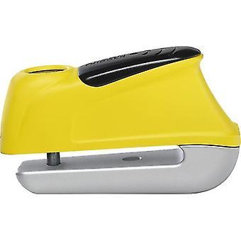 Abus Trigger Alarm 345 Yellow Motorcycle Brake Disc Lock 5/50mm