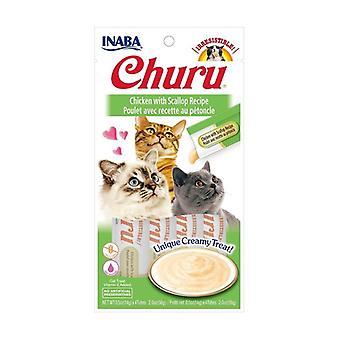 Churu Cream for Cats Chicken with Scallop 1 unit