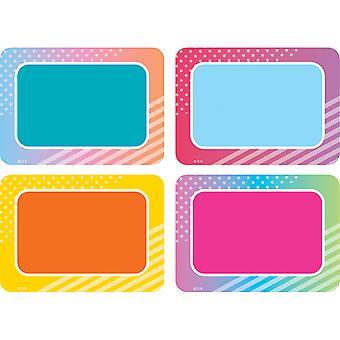 Etiquetas/Etiquetas de Nombre De Vibes Coloridos