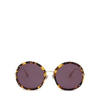 Dior DIORHYPNOTIC1 havana gold female sunglasses