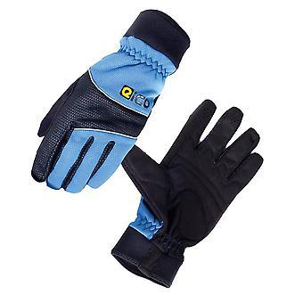 Eigo Windster Cycling Gloves Black / Blue