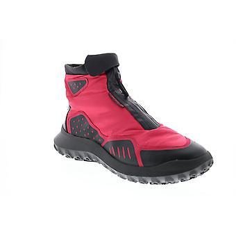 Camper CRCLR  Mens Pink Canvas Zipper Euro Sneakers Shoes