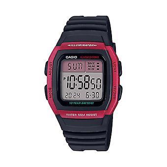 Casio Watch W-96h-4avef - Vintage Red Box Digital Display Hane/Hona