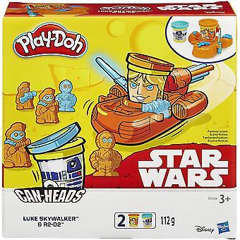 Play-doh voi kruunaa starwars luke skywalker ja r2d2 pack