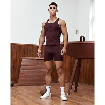 Slimming Corset Body Shapewear, Cotton Shirt Bodysuit Mens Underwear
